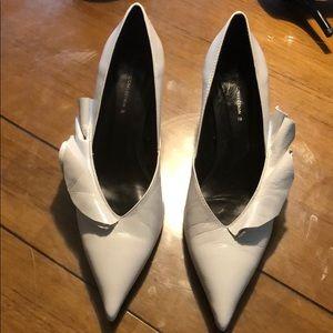 Zara Basic Collection white heels